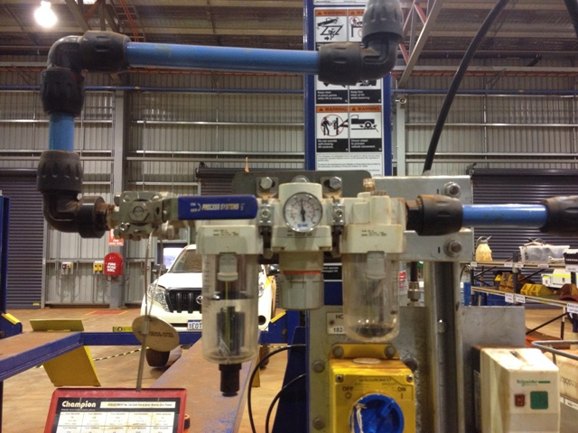 Compressed Air Pipe Installations