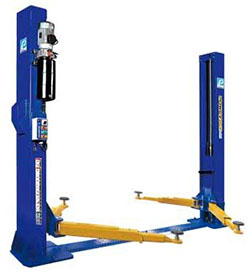 PowerRex Base Type, 4 Tonne, Two Post Hoist