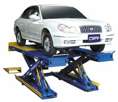 Wheel Alignment Scissor Lift Heshbon